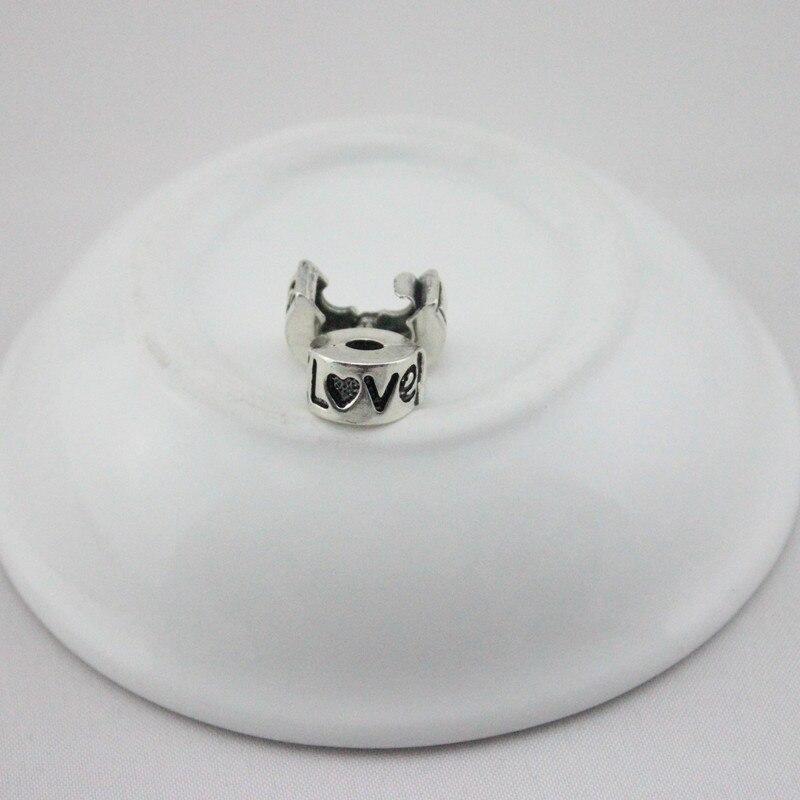 DGW 1pc free shipping Fits Pandora Charms bracelets safety Bead Clip Stopper Star Pattern European Charm DIY Jewelry