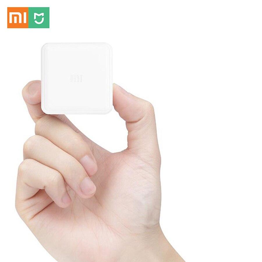 imágenes para Xiaomi mi Cubo Controlador Zigbee Gateway Versión Controlado por Seis acciones con Aplicación de Teléfono para el Hogar Inteligente Dispositivo de TV Inteligente Socket