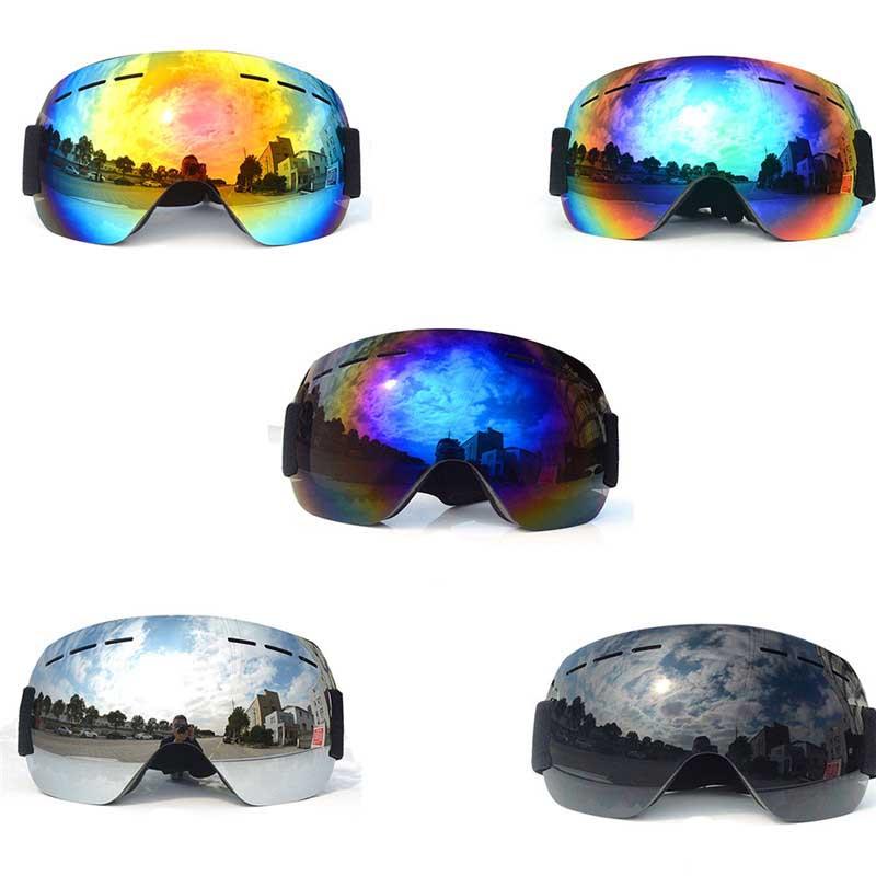 Ski Goggles UV400 Layer Anti-fog Large Ski Eyewear Mask Ski Goggles Women Men Snowboard GlassesSki Goggles UV400 Layer Anti-fog Large Ski Eyewear Mask Ski Goggles Women Men Snowboard Glasses