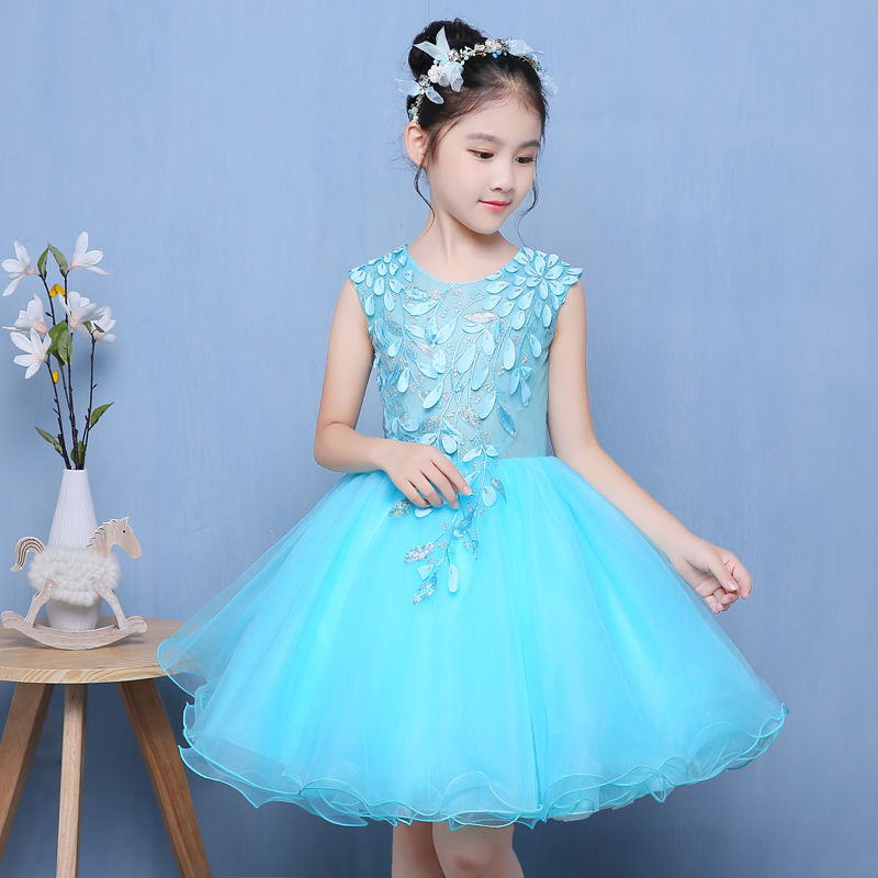 Girl Kids Summer New Dress Flowers Clothes Baby Children Elegant Wedding Events Party Birthday Ball Gown Dress Children ClothingGirl Kids Summer New Dress Flowers Clothes Baby Children Elegant Wedding Events Party Birthday Ball Gown Dress Children Clothing