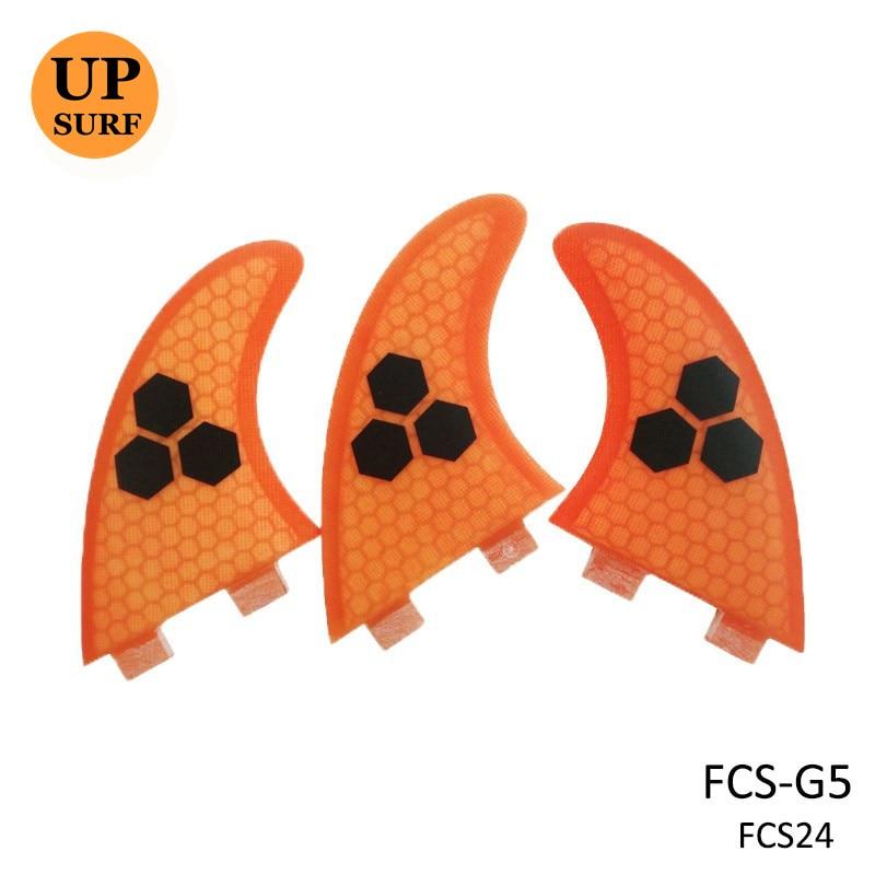 FCS Fin Surf тақталары F5 G5 Orange / Blue / Green / Gray - Су спорт түрлері - фото 3