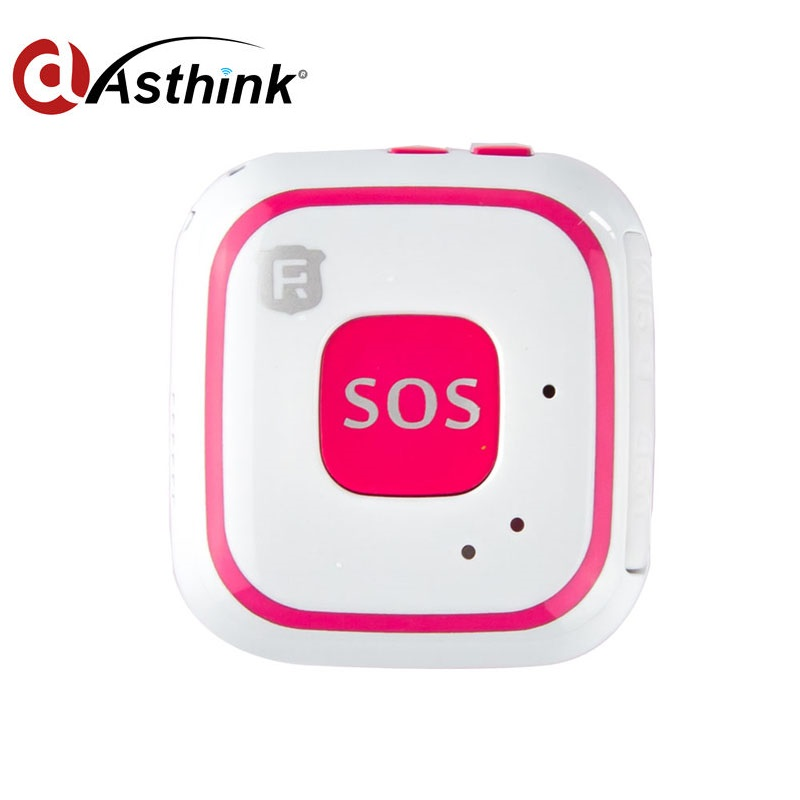 Mini GPS Tracker Locator Portable Anti-lost Tracker for Kids Children Seniors SOS Tracking Device Free GPS Platform mini portable gps locator real time tracker sos communicator with lanyard for car person