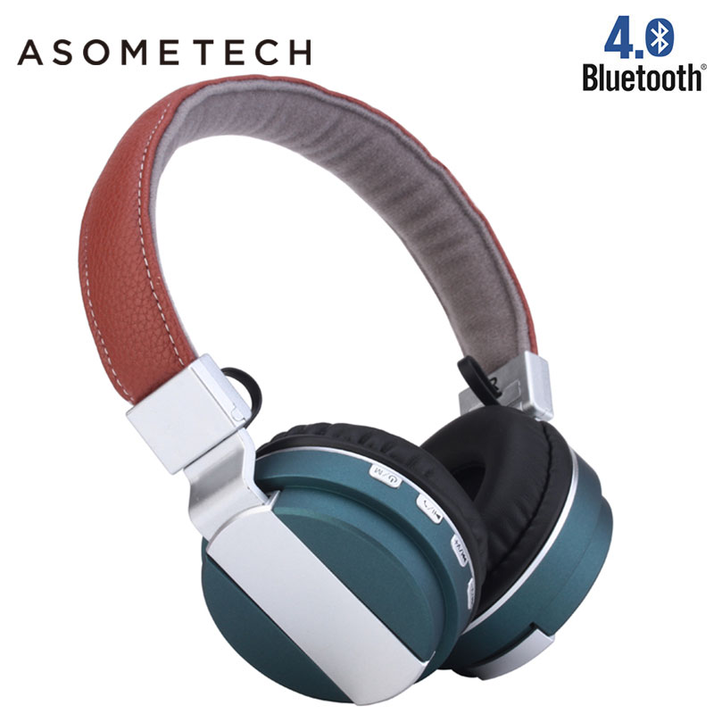 Wireless Headphones Bluetooth Earphone Headset Sport Headphone Stereo Foldable Earphones with Microphone for Xiomi Smartphone PC