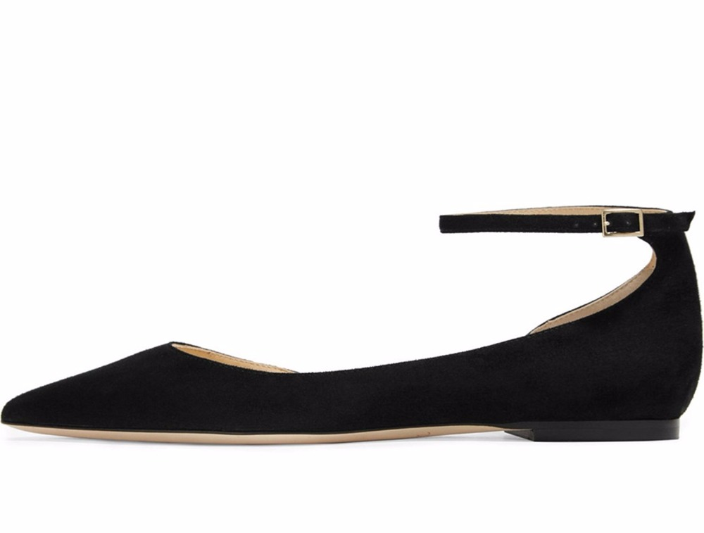 ФОТО 2016 New Fashion D'Orsay&Two-Piece women's shoe flat ankle strap shoe hoof heel Customize Cross-tied flats for party big size15