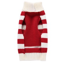 New Christmas Dog Clothes Elk Stripes Reindeer Pet sweater For Small Dogs