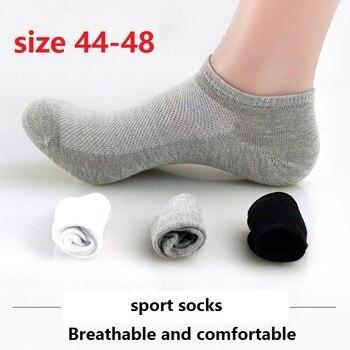 10 pairs New 2017 summer Men Cotton Socks Fashion In Tube Socks Male Casual Business Breathable Socks Boy size 42-48 Socks