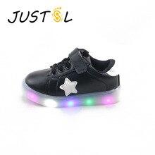 Белая светодиодная детская обувь, детские кроссовки с подсветкой, яркая детская обувь для мальчиков, детские кроссовки для девочек, детские спортивные кроссовки 164
