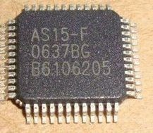5pcs AS15-F QFP <font><b>AS15F</b></font> <font><b>QFP48</b></font> AS15 Original LCD chip E-CMOS image