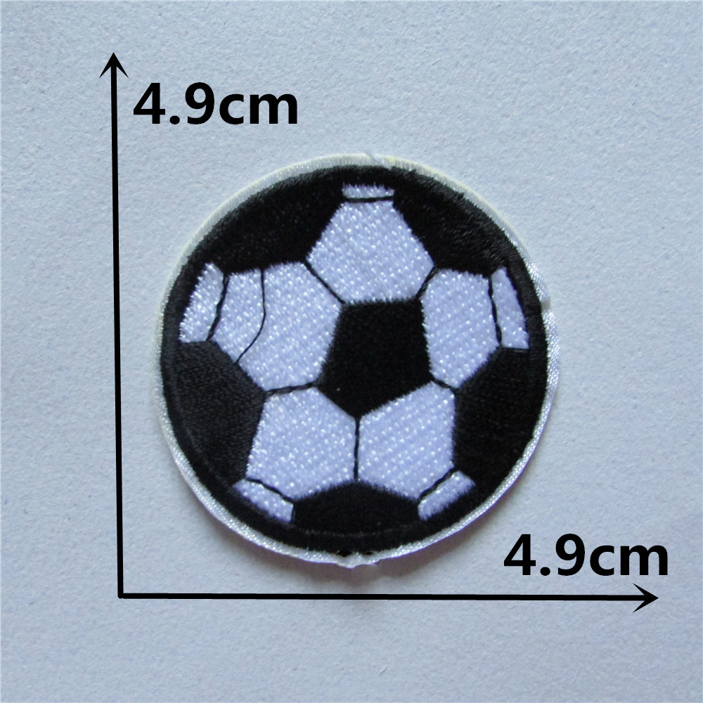soccer  patch Ho t melt adhesive clothing patches stripes 1pcs applique embroidery blossom DIY accessories Ultra-low prices C212