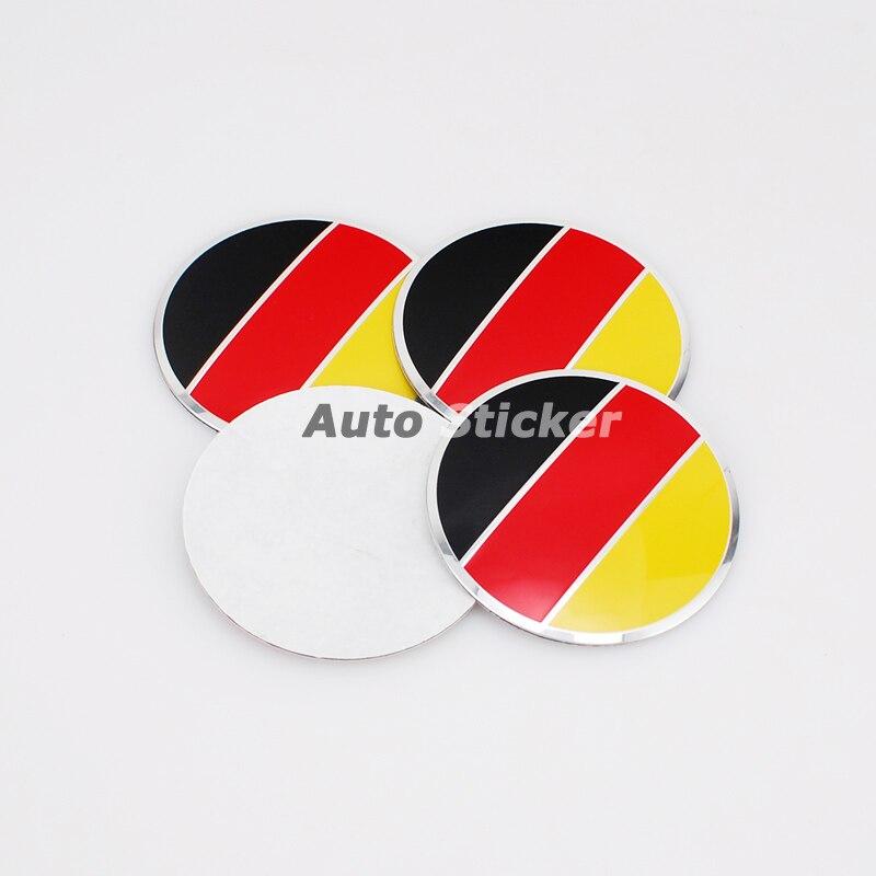 Acura Logo Car Lot Flag F 1829: 56.5mm Germany Deutschland Flag Car Wheel Center Sticker