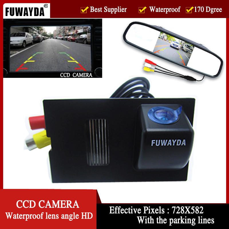 FUWAYDA Color Car Rear View Camera for Land Rover Discovery 3 4 Range Rover Sport Freelander