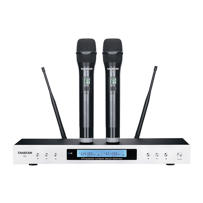 Wireless Handheld Dynamic Microphone : new takstar g3 wireless microphone uhf karaoke handheld cardioid dynamic dual handheld wireless ~ Vivirlamusica.com Haus und Dekorationen