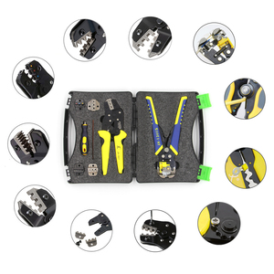 Image 3 - PARON JX D5301S Crimping Tool Professional Wire Crimper Multi tool Wire Stripper Cutting Pliers Cable Cutter Tools Set