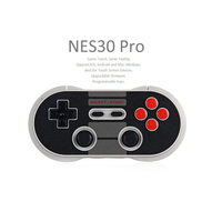 Classic 8Bitdo NES30 Pro Wireless Bluetooth Game Controller For IOS Android PC Mac Linux Dual Joystick