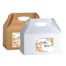 Personalized Welcome Box Labels Wedding Gift Bag Favor - Stickers