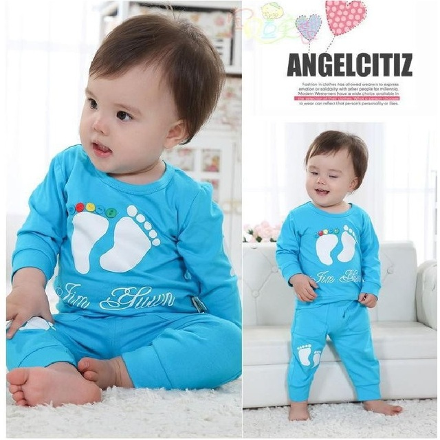 40c3f19a7 Wholesale Yellow Cute Baby Boys Clothing Sets Children s T Shirts+ ...