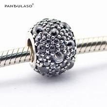 Brillantes Gotas de Clear CZ Beads Fit Pandora Charms Pulsera Plata 925 Original 2016 Nuevo Del Grano Del Encanto para Hacer La Joyería DIY