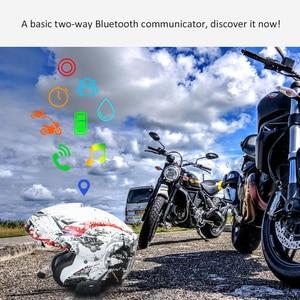 Image 4 - EJEAS V6 Pro Intercom Helmet Bluetooth Headset 850mAh Intercomunicador Microphone Metal Clamp MP3 GPS 1200m For 6 Riders