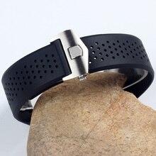 Высококачественные силиконовые Ремешки для наручных часов CARRERA AQUARACER ремешок 22 мм 24 мм мужской спортивный ремешок для дайвинга водонепроницаемый резиновый