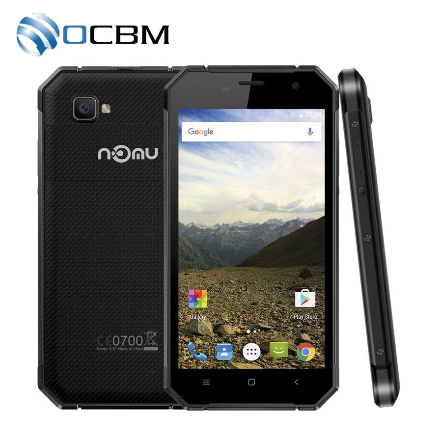 """Цена за Новое Поступление Ному S30 5.5 """"FHD MTK6755 Окта основные Android 6.0 4 ГБ RAM 64 ГБ ROM 1920*1080 NFC 5000 мАч Водонепроницаемый 4 Г LTE Мобильный Телефон"""