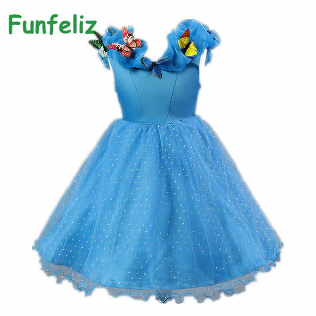 Aliexpress.com : Buy Cinderella Dress baby girl party dress girls ...