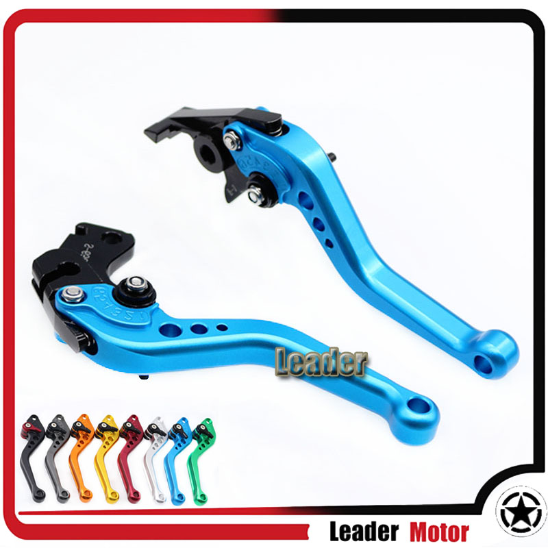 Buy For SUZUKI DL650 V-STROM DL 650 2004-2010 600 KATANA 750 KATANA 1998-2006 Motorcycle Accessories Short Brake Clutch Levers Blue