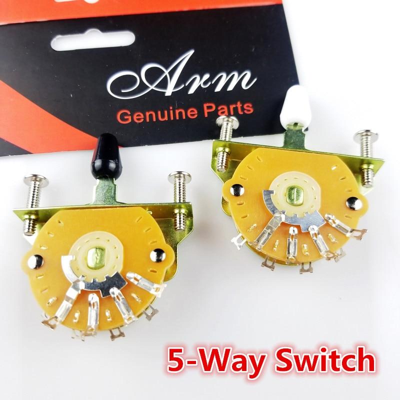 1-osaline 5-suunaline elektrikitarrvalijalüliti valiku lüliti