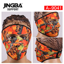 JINGBA SUPPORT Hot Halloween Skull Cool Mask Riding bike mask Outdoor sport ski mask Windproof Full Face Facemask Dropshipping цены