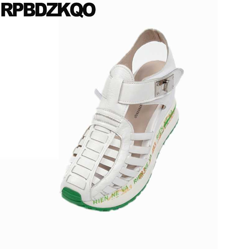 86c7555f76 Comfortable Shoes Pumps Sneakers Red Gladiator Cage Strappy Women Wedge Platform  Sandals Strap Closed Toe Flatform