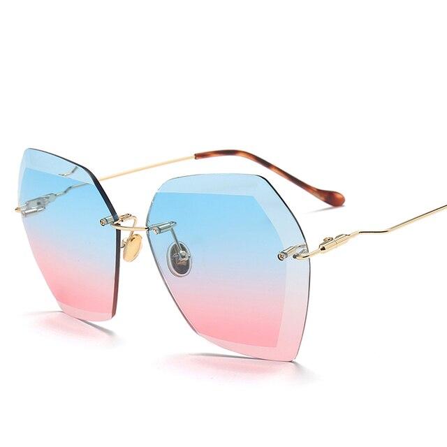 f68c88c40f2 Rimless sunglasses mirrored sunglasses women sun glasses for men jpg  640x640 Rimless sunglasses