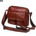 genuine leather man bags really cowhide solid mens messenger bag vintage designer male crossbody bags man shoulder Laptop bag
