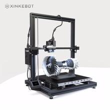 Большой 3D-принтеры двойной экструзии 3D-принтеры xinkebot Orca2 cygnus премиум с подогревом высокое качество поверхности 400x400x500 мм