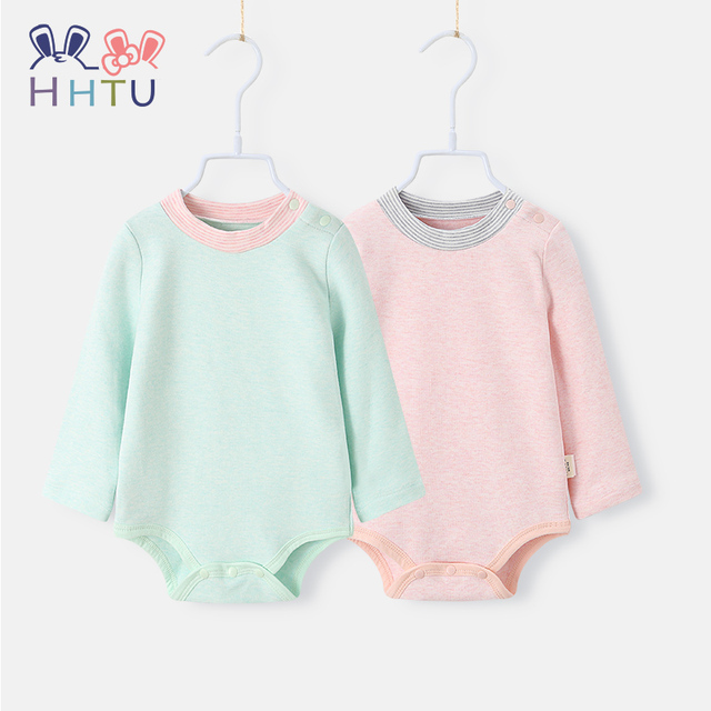 7f166fe21 Aliexpress.com   Buy HHTU Baby Rompers Long Sleeves for Boys Girls ...