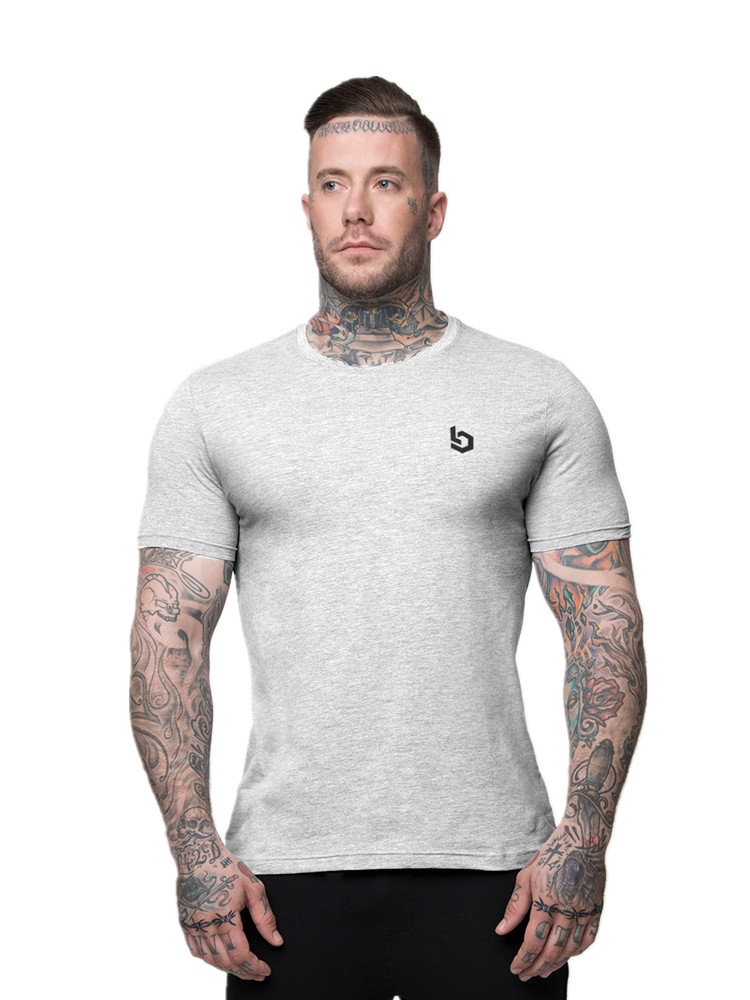 2019 new Males cotton Quick sleeve t shirt Summer season New Gyms Health T-shirt male tees tops Man informal Jogger Stable clothes T-Shirts, Low cost T-Shirts, 2019 new Males...