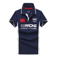 2018 summer brand Men Polo ralphmen pol fashion shirt 100% cotton short sleeve polo Hommes Embroidery Air Force One Polo Shirt