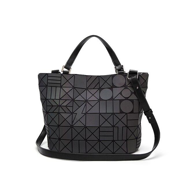 Luxury Handbags Women Bags Designer Laser Bag Geometry Sequins Obag Bolsas Victor Hugo Crossbody