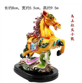 Creative Codactyly colour pottery is right away red fire makes a fortune size number places a home to decorate handicraft timer