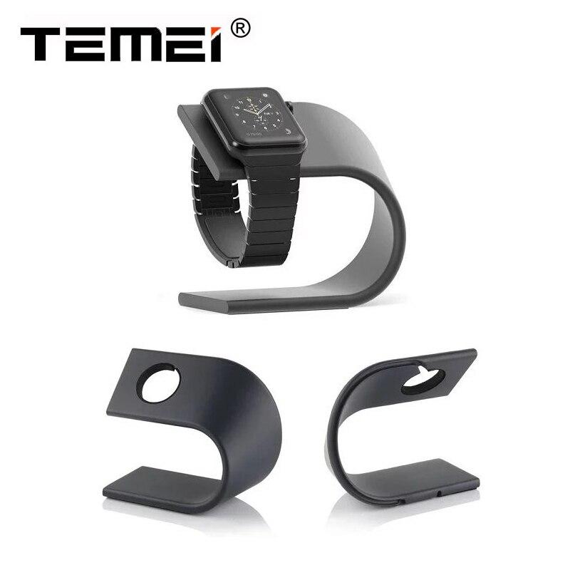 imágenes para De lujo de alta calidad de tipo u de metal soporte de exhibición del sostenedor del soporte del muelle de carga para apple watch