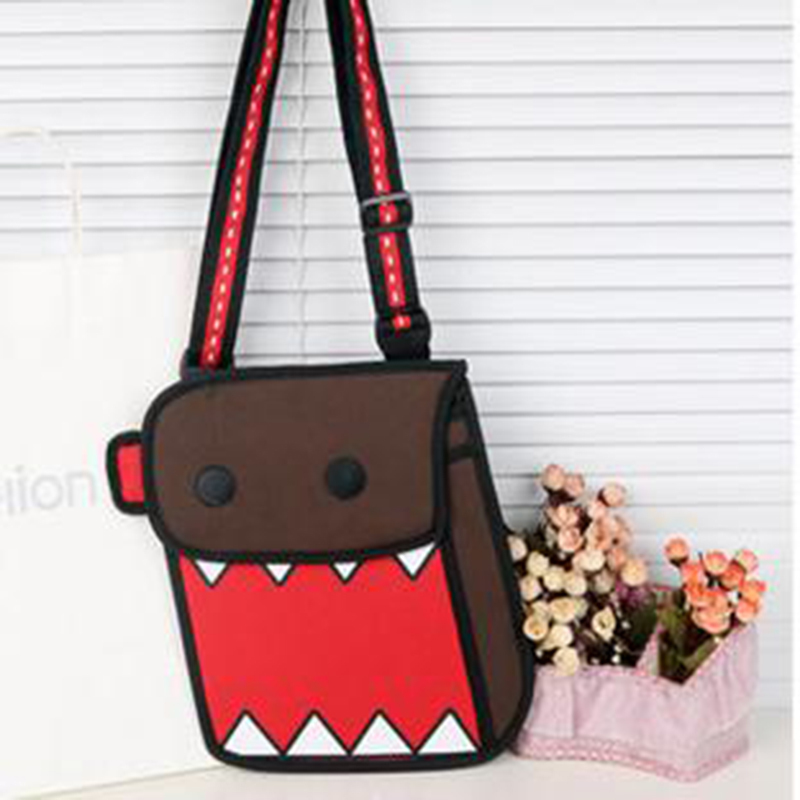 2015 New style cartoon cute crossbody school bags for teenager ...