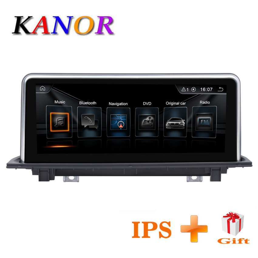KANOR 10.25inch 2G+32G Android 7.1 car radio multimedia player for BMW X1 F48 2016 2017 with Original NBT system Car GPS SatNavi kanor 8 8 2g 32g android 7 1 car radio multimedia player for bmw 1 series f20 f21 2010 2016 2 series f23 2013 2016 nbt system