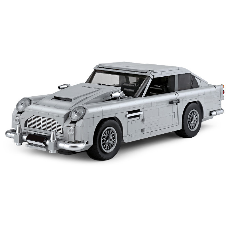 Livraison directe nouveau Compatible avec la jambe Gao 10262 James Bond Aston Martin DB5 JB 007 blocs de voiture briques modèle construction bricolage jouets
