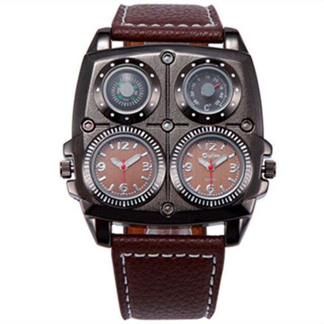 שעון יד לגבר יוקרתי דגם 3138