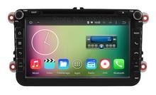 Quad Core Android 5.1.1 Car DVD Player GPS for VW Volkswagen Passat CC Golf 5 6 Touran Sharan EOS Jetta Polo Amarok Bettle