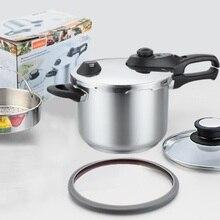 Скороварки кухонной утвари inox#304 высокого качества из нержавеющей стали со горшок с 1 больше крышку кастрюли