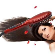Электрический Выпрямитель для волос, щетка для ухода за волосами, стильный выпрямитель для волос, расческа, автоматический массажер, выпрямители, простой быстрый Утюг для волос