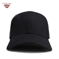 Customize LOGO Baseball Caps For Men Women Fixed Cotton Black Baseball Hat Comfortable Elasticity Outdoor Sports