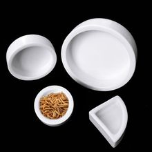 Ceramics Reptile Feeder Water Food Dish Feeding Bowl Turtle Lizard Snake Basin