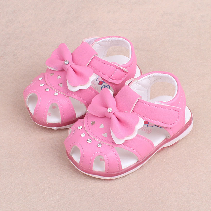2018 Baby Girl Sandals Flowers Children Shoes Girls Soft Kiz Cocuk Sandalet Summer Sapato Infantil Menina Princess Baby Shoes
