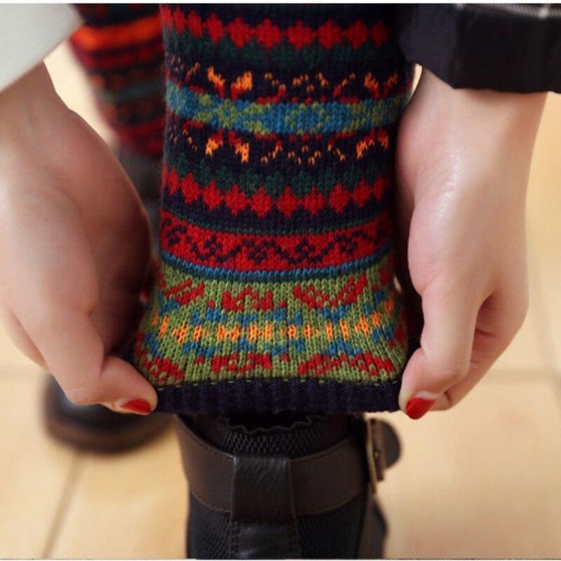 WEIXINBUY Women Winter Elegant Over Knee Long  Knit cover Patchwork Colorful Ladies Crochet Vintage Leg Warmers Legging Chic HTB1pp7egx6I8KJjy0Fgq6xXzVXaP