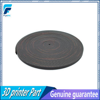 50M/lot PU with Steel Core GT2 Belt Black Color 2GT Timing Belt 6mm Width 50M a Pack for 3d printer Free Shipping